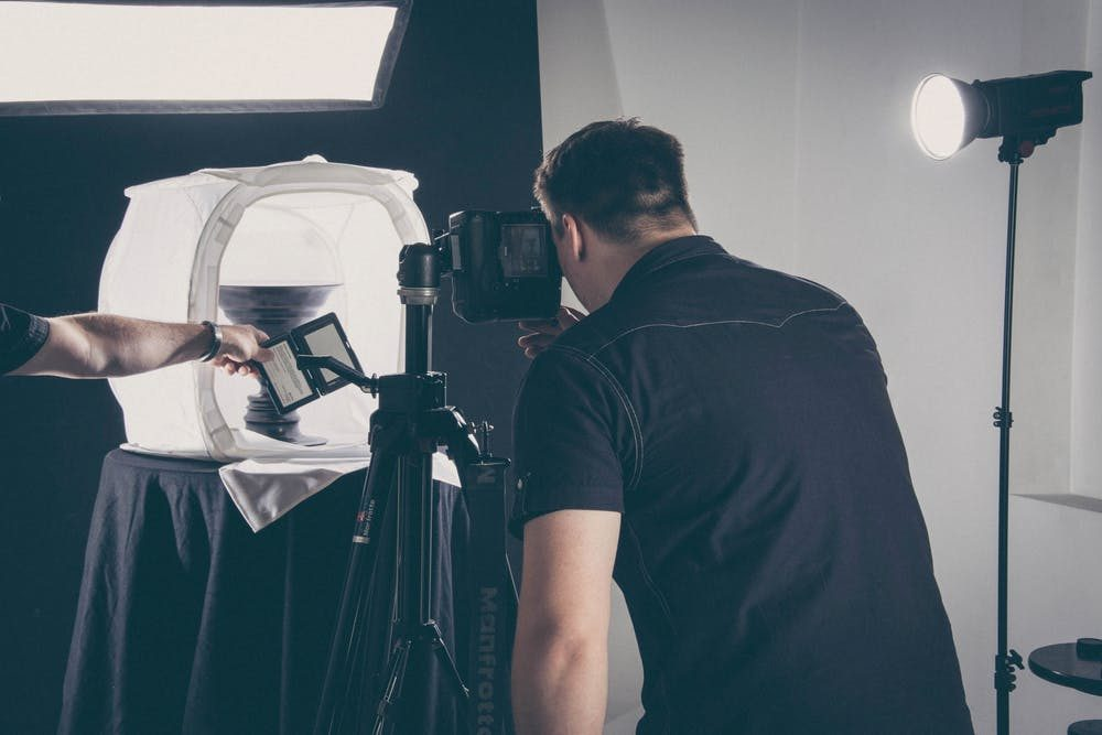 proper lighting is necessary for product photography